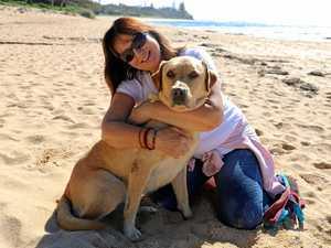 Quick thinking saves beloved pet on the beach