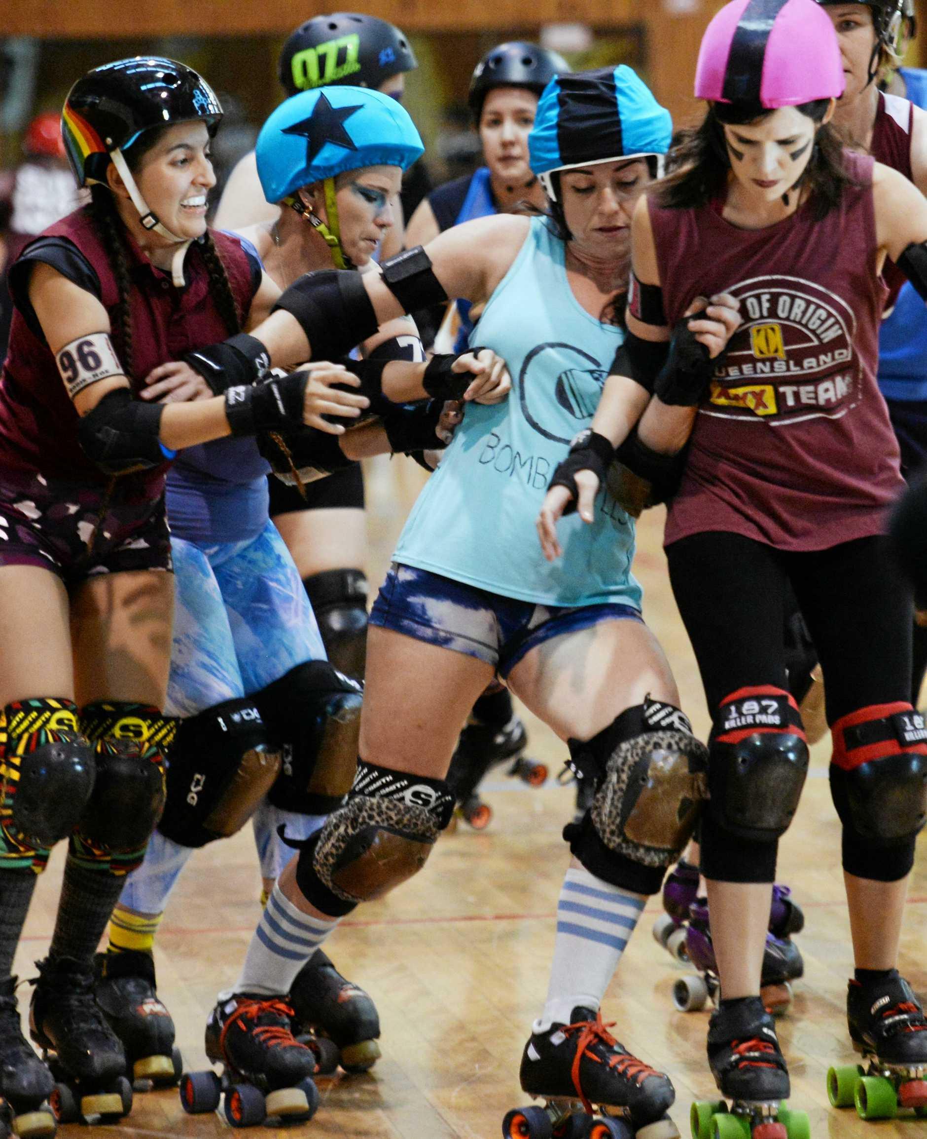 Roller derby: Skate of Origin 2019