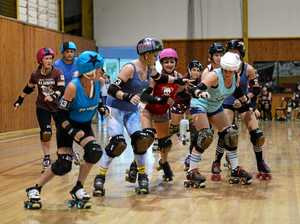 Blues take honours in Rocky's Origin on roller skates