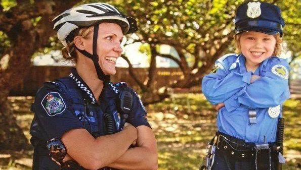 'I deadset love my job': Car crash rips cop's career apart