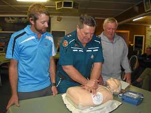 Jandowae residents learn how to save a life
