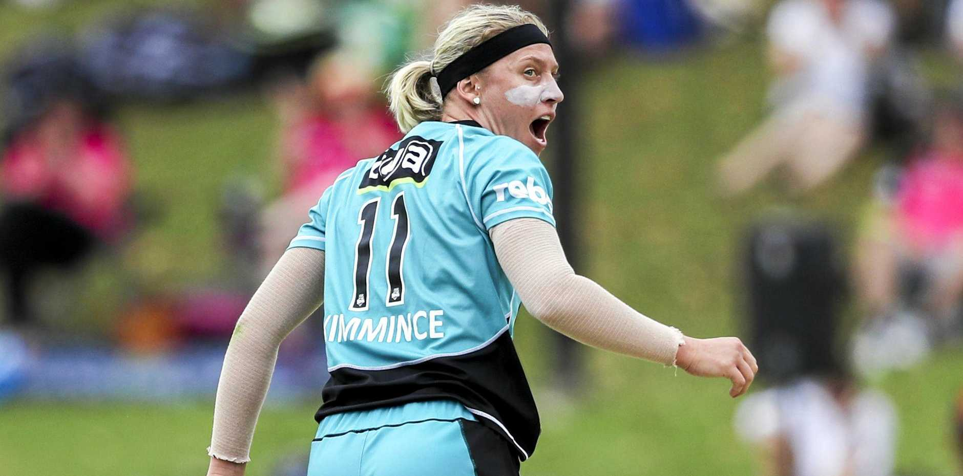 FUTURE STARS: Could the next star from the Darling Downs come through the pathway? Australian representative and Brisbane Heat all-rounder Delissa Kimmince hails from the Downs.