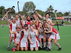 Gladstone women victors - Number One team win division