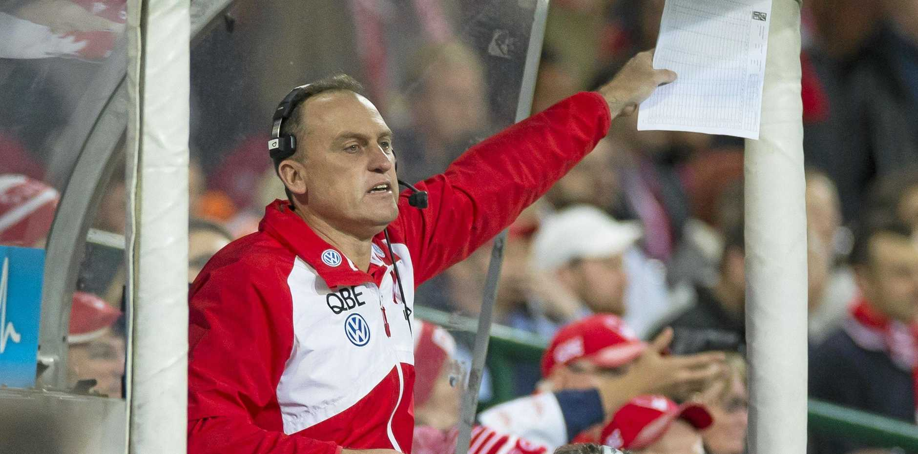 Sydney premiership coach and former North Melbourne champion John Longmire is in demand. Picture: Craig Golding/AAP