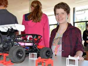 Star Trek motivates Sarah to make robots do her work for her