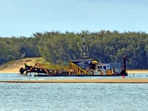River dredge 'robs Peter to pay Paul' in sand replenishment