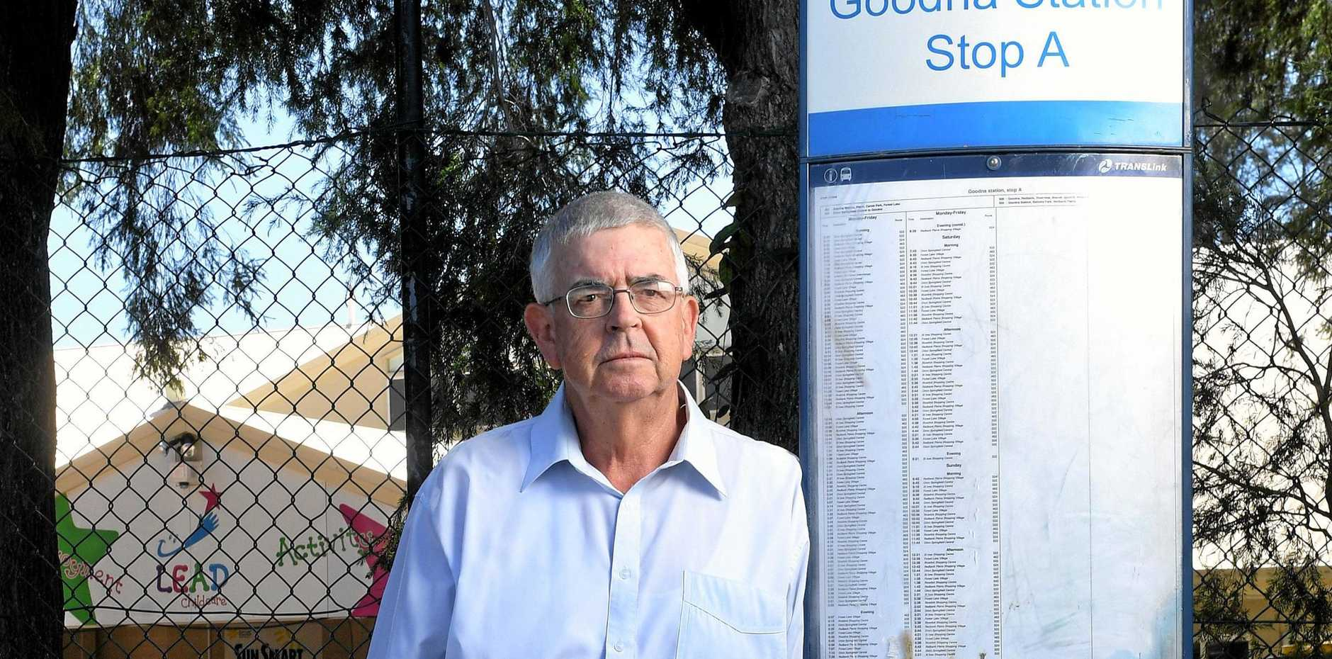 Robert Dow welcomes service restorations but want the rail fail acknowledged.