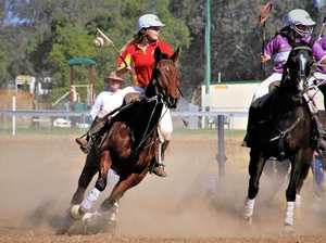 Bush Polocrosse teams gallop into St George for carnival