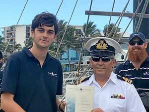 Teen sails thousands of kilometres on open seas