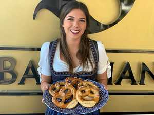 Hot dog frenzy as The Bavarian opens its doors