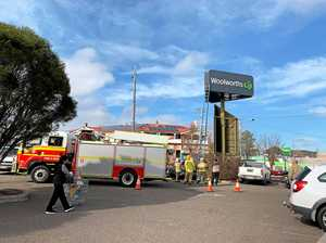 Firies attempt unusual rescue mission