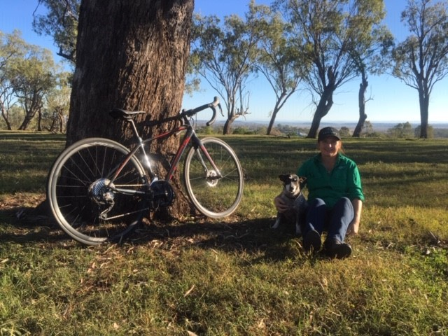 Darling Downs' Lana Bradshaw is helping Ms Zelenak's family ensure their daughter's memory lives on with a bike ride to raise awareness for her legacy charity The Sarz Sanctuary