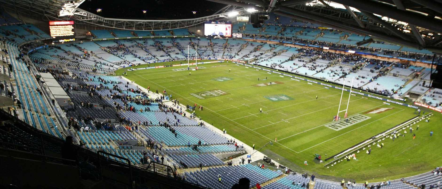 State of Origin 2 - NSW vs QLD at ANZ Stadium, Sydney Olympic Park, Sydney. Generic. Picture: Brad Hunter