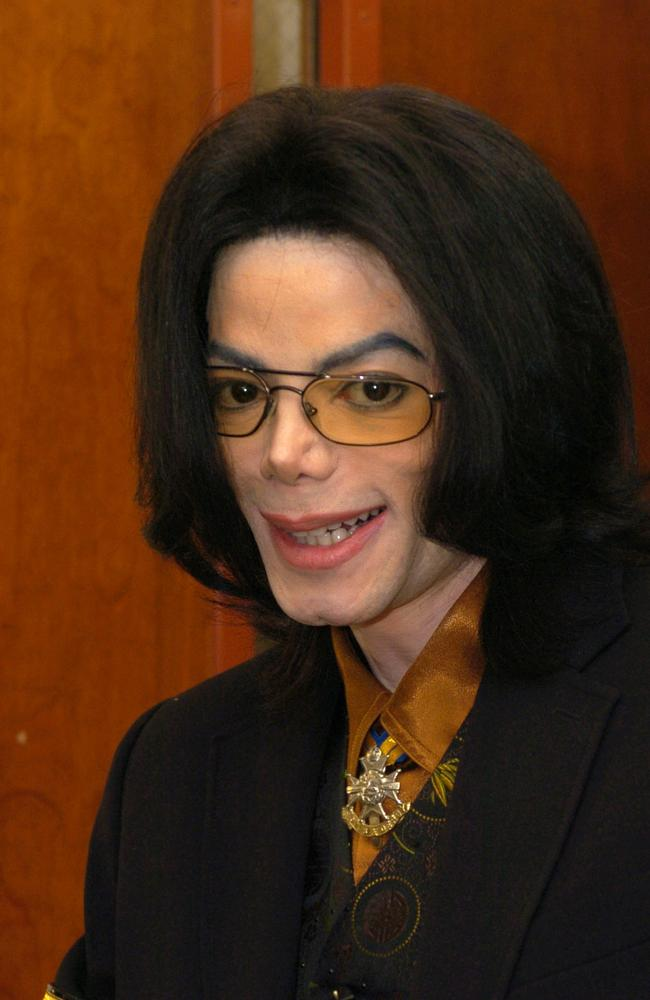 Michael Jackson (pictured in 2005) died of an accidental drug overdose in 2009. Picture: Phil Klein-Pool/Getty Images.