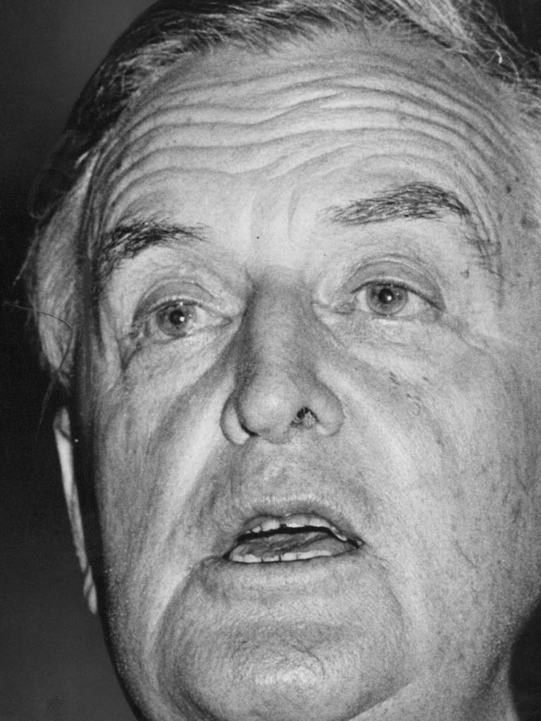Joh Bjelke-Petersen, former premier of Queensland.