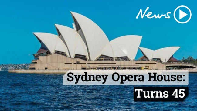 The Sydney Opera House turns 45