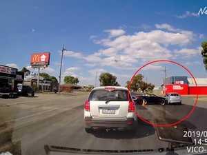 Dash cam vision of Ballarat collision divides viewers