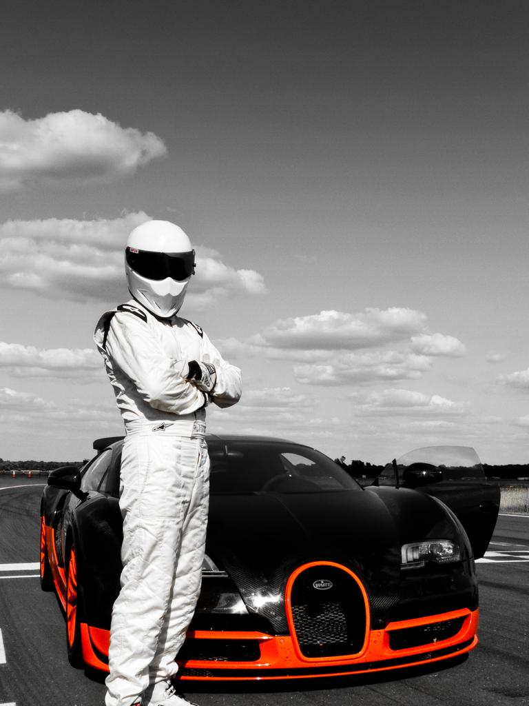 Top Gear's The Stig held the previous record for piloting the world's fastest tractor