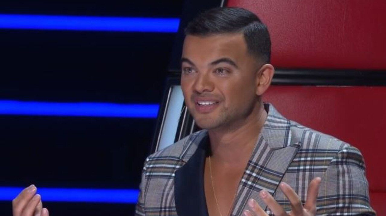 Guy Sebastian couldn't hide his disappointment at his team's performance on Tuesday night.