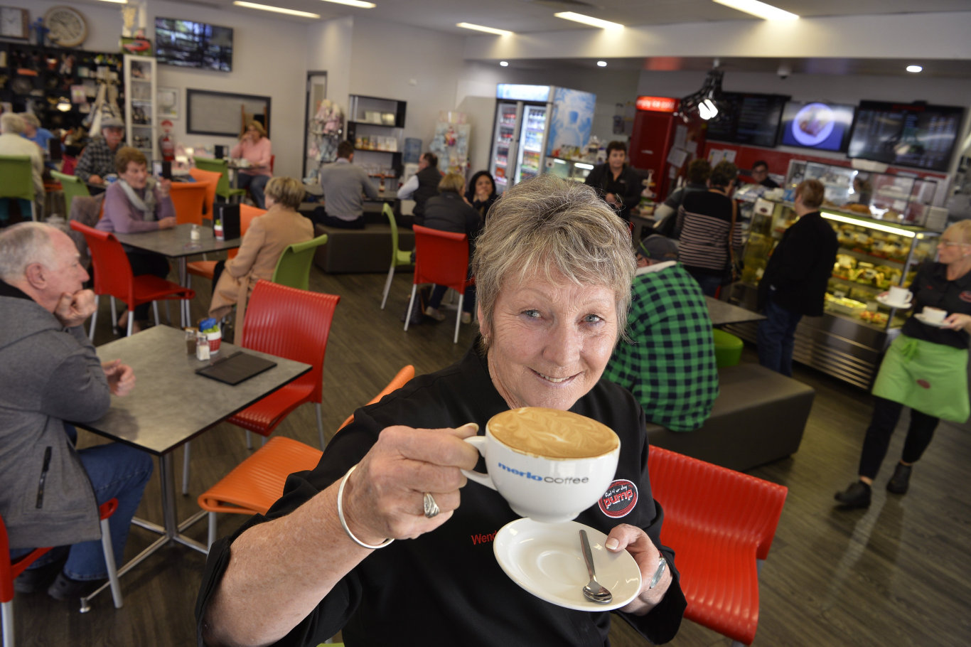 Pump manager Wendy Swan is proud for Pump@123 to be named Toowoomba's best coffee shop in The Chronicle's 2019 Best of Toowomba series, Tuesday, June 25, 2019.