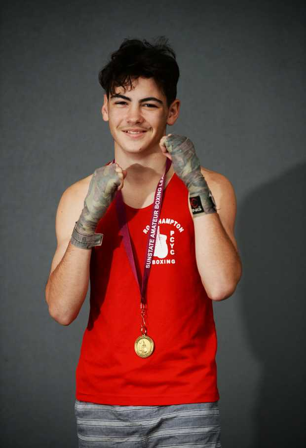 Image for sale: Boxer Coby Campbell.