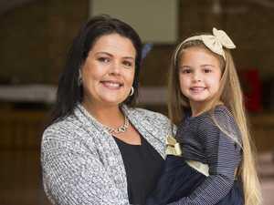 Natasha Renyard with her daughter Indi Renyard. Indi