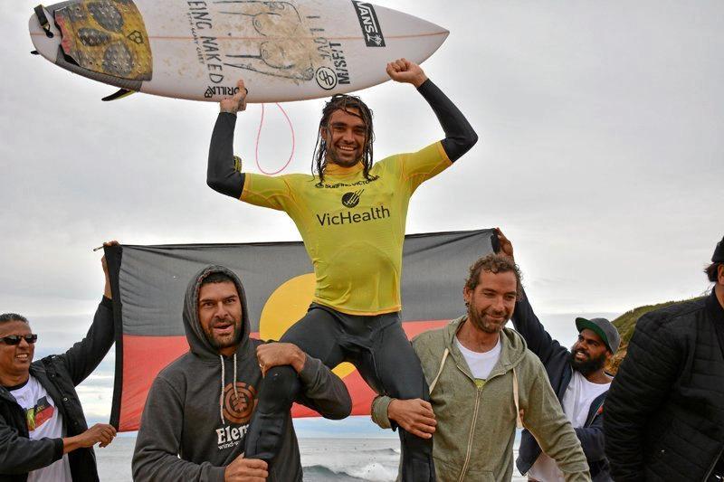 Coffs Harbour surfer Otis Carey won the 2014 Australian Indigenous Surfing championship.