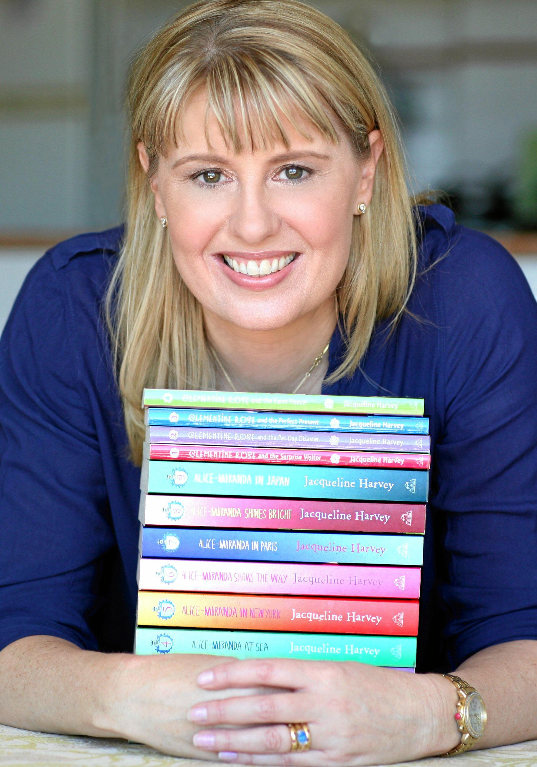 MASTER CLASS: Jacqueline Harvey will hold writers workshops at the Maryborough Library.