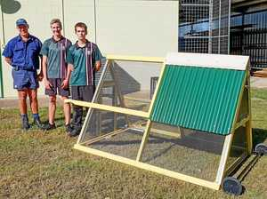 School's secret project has flown the coop