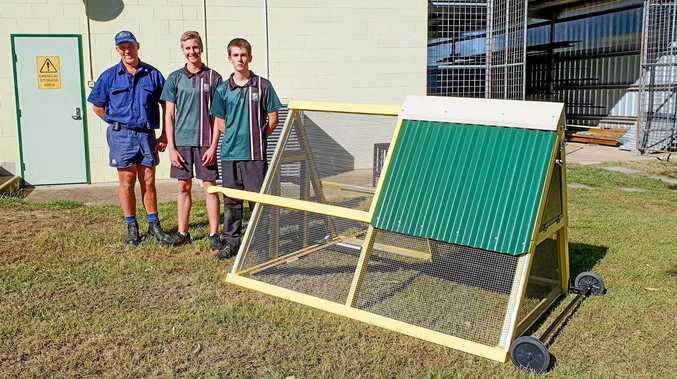 School's secret project has flown the coop