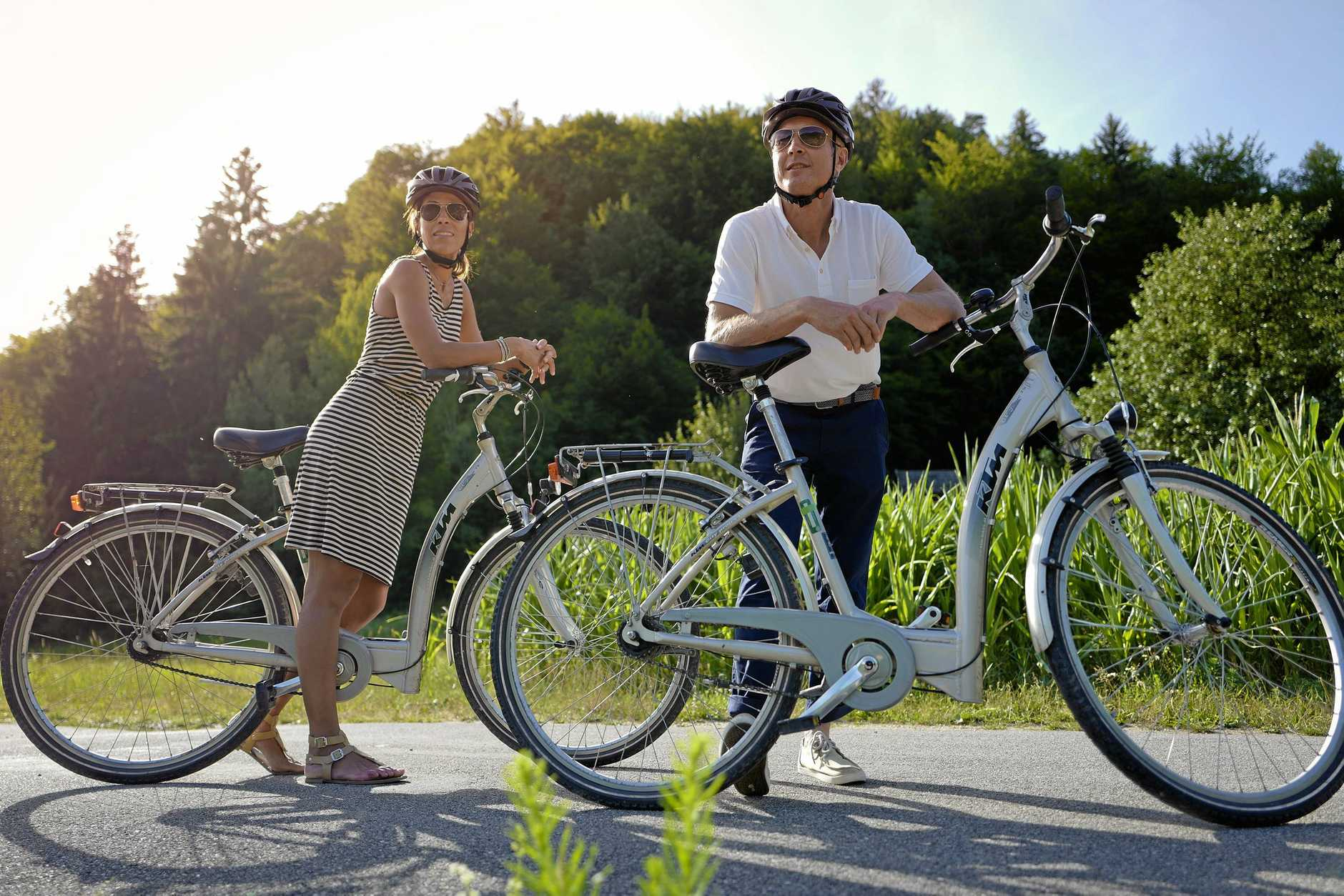 GET GOING: Bike riding is a great a way to get around.