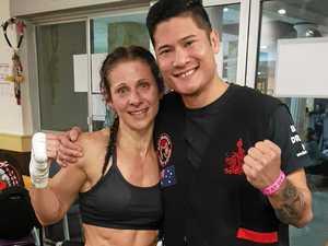 Rocky mum, 40, wins Australian kickboxing title