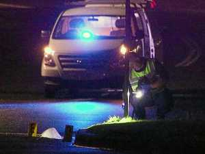 Motorcyclist killed in crash struck road sign in the rain