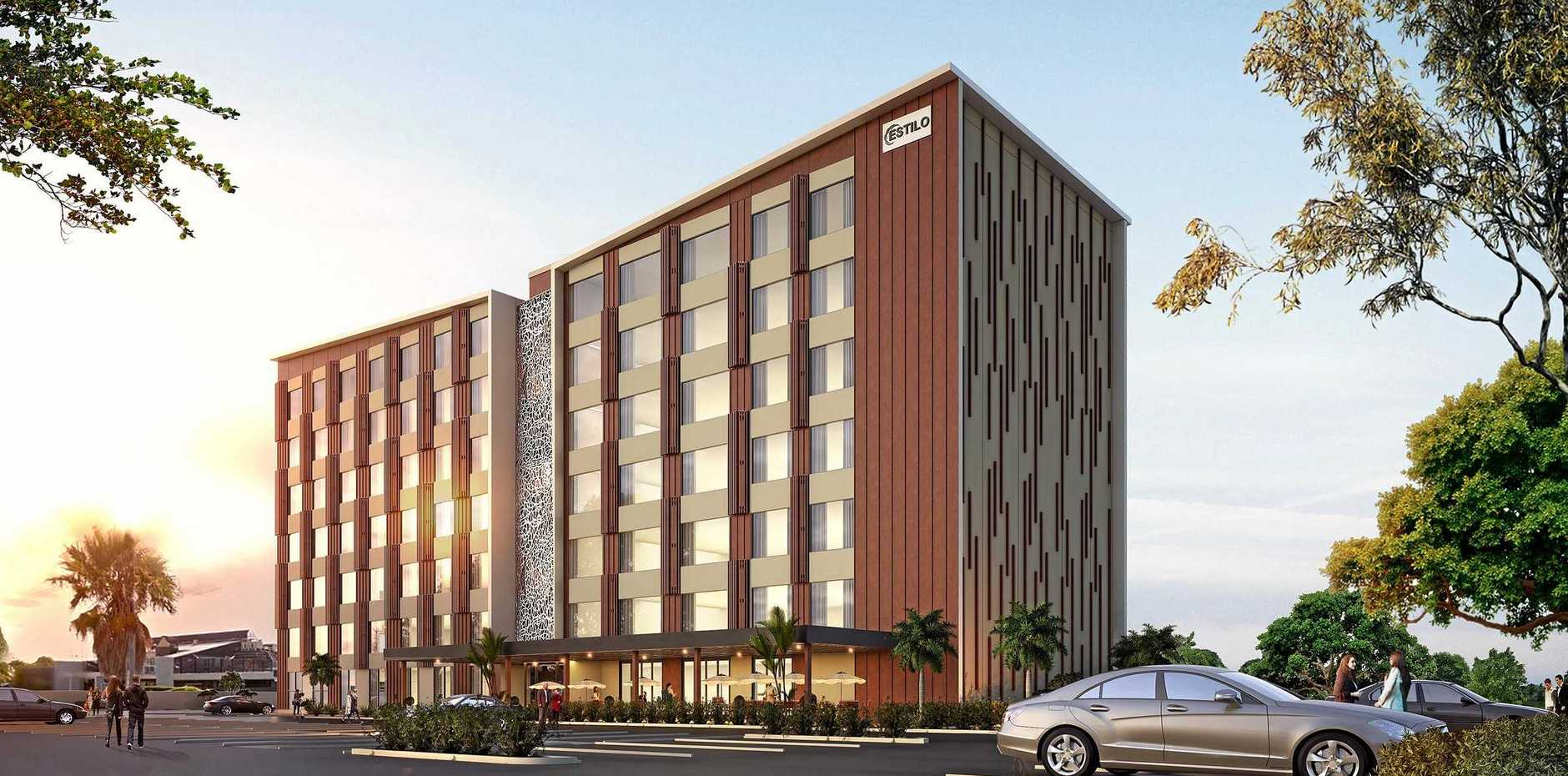 PLACE TO STAY: The new hotel planned near the airport.