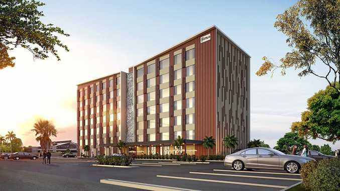FLYING HIGH: Bundaberg's first seven-storey hotel approved