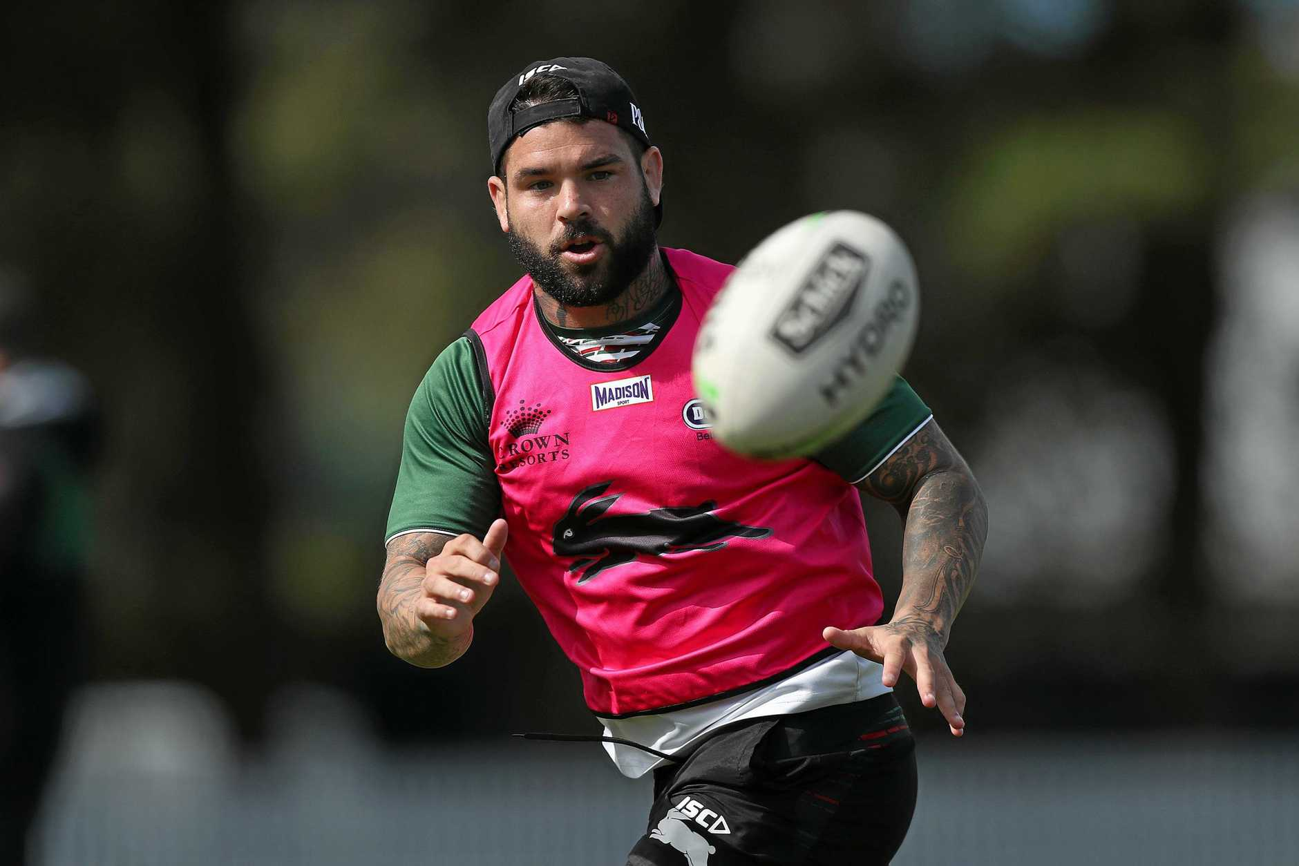 Adam Reynolds returns to action for the Rabbitohs. Picture: Brett Costello