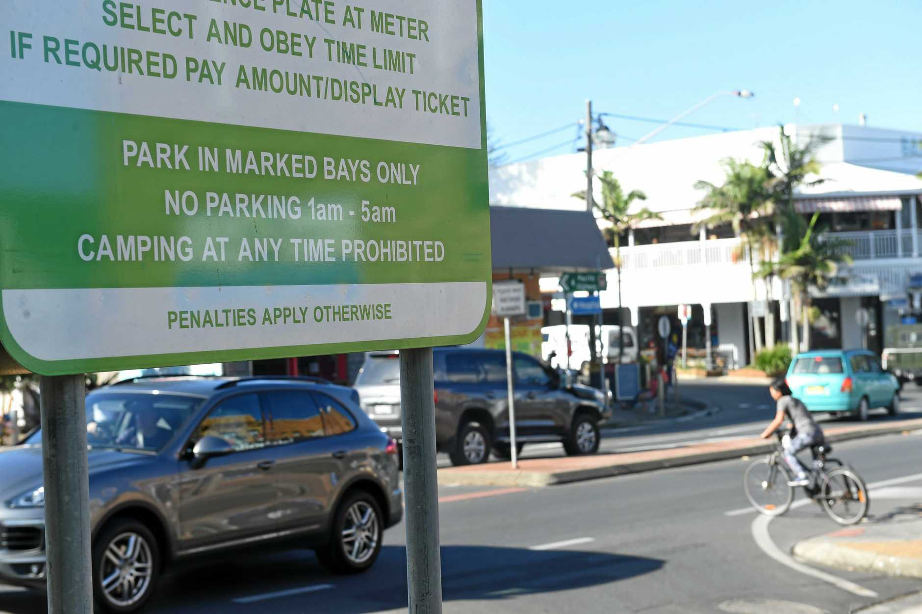 PAY TO PLAY: Lismore residents could soon be paying an annual fee to park their vehicles in a CBD council-operated car park, similar to the system used in Byron Bay.