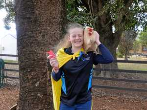 Foot in right direction, thanks to chicken prosthetics