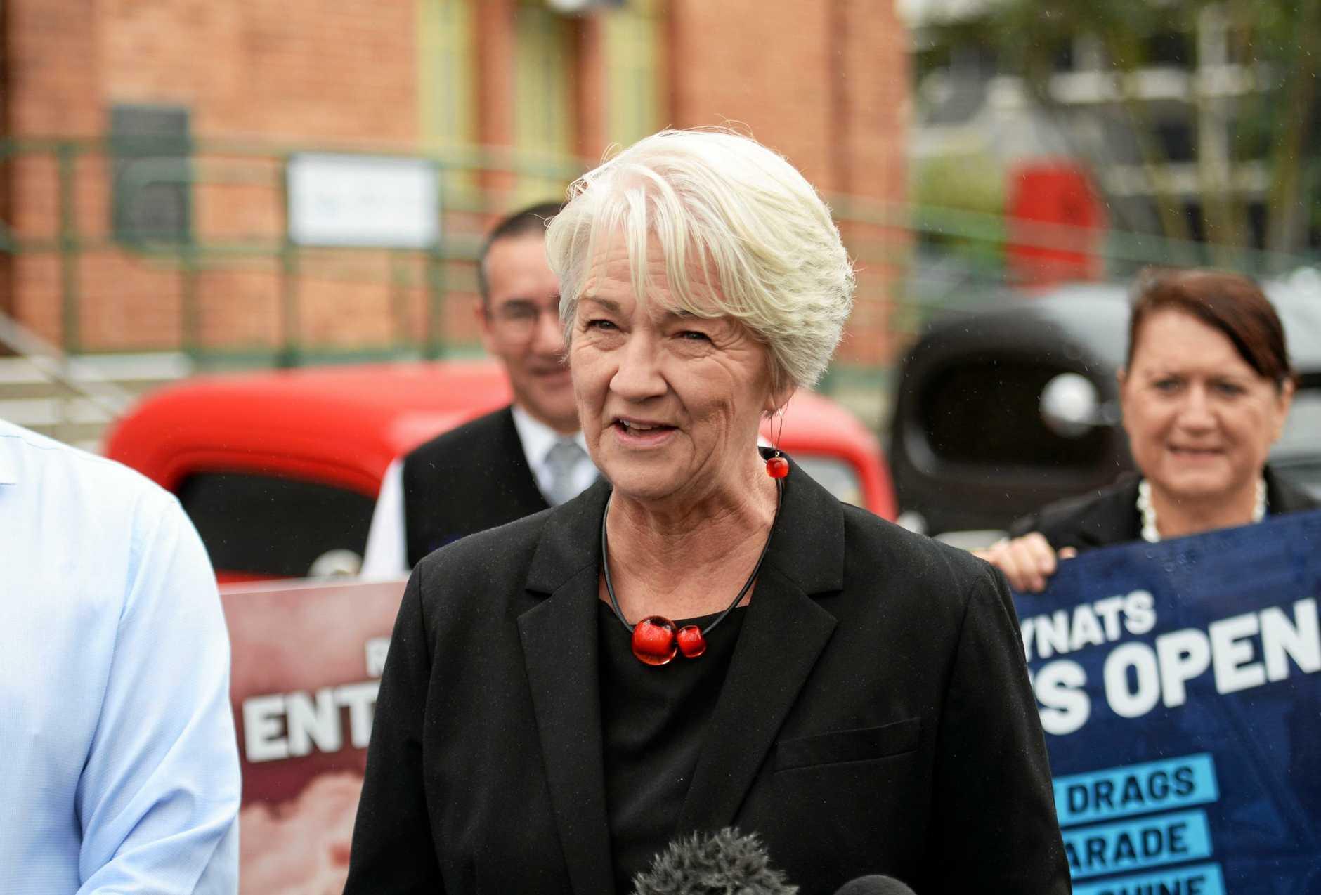 2020 Rockynats. Mayor Margaret Strelow.