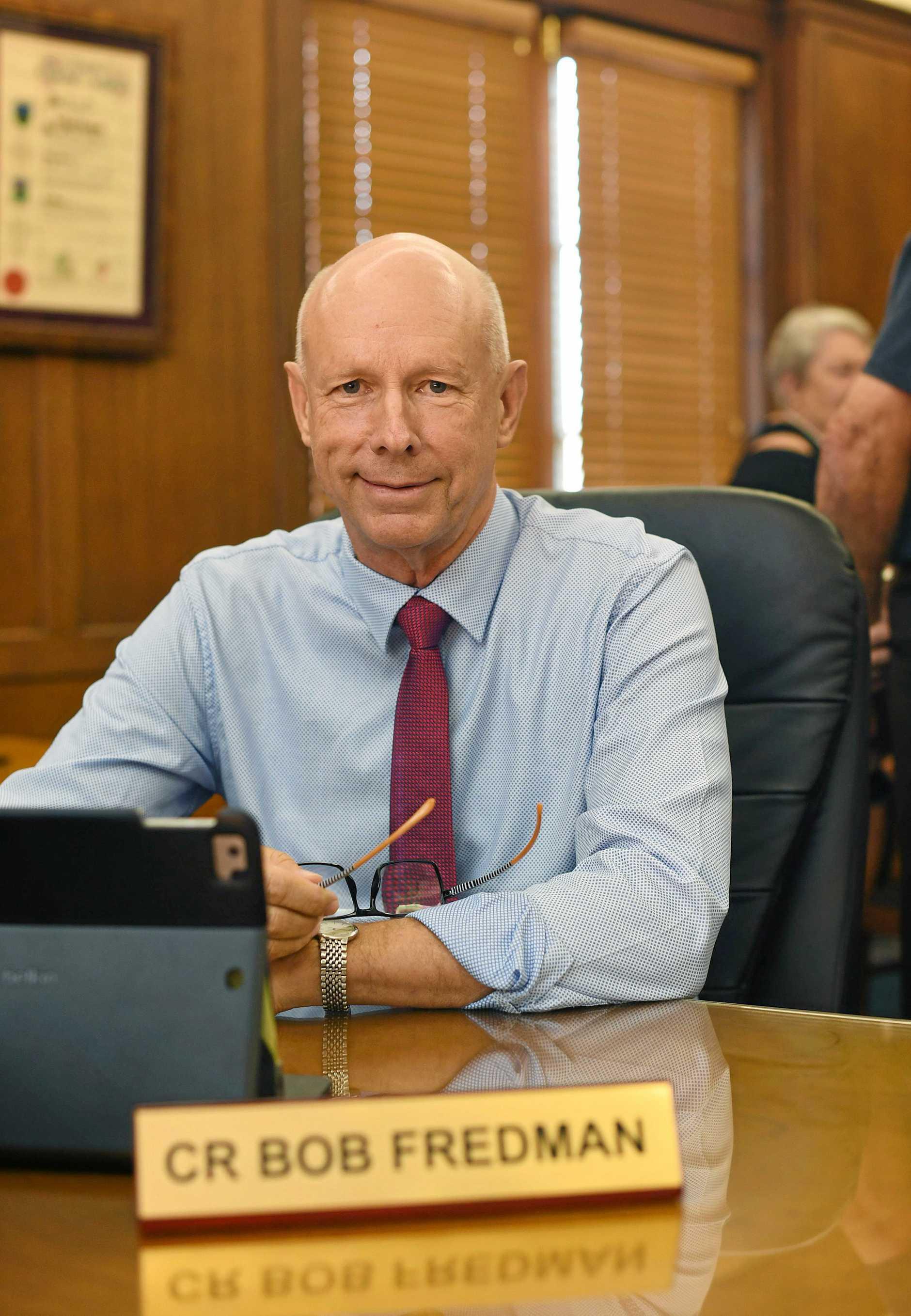 Councillor Bob Fredman.