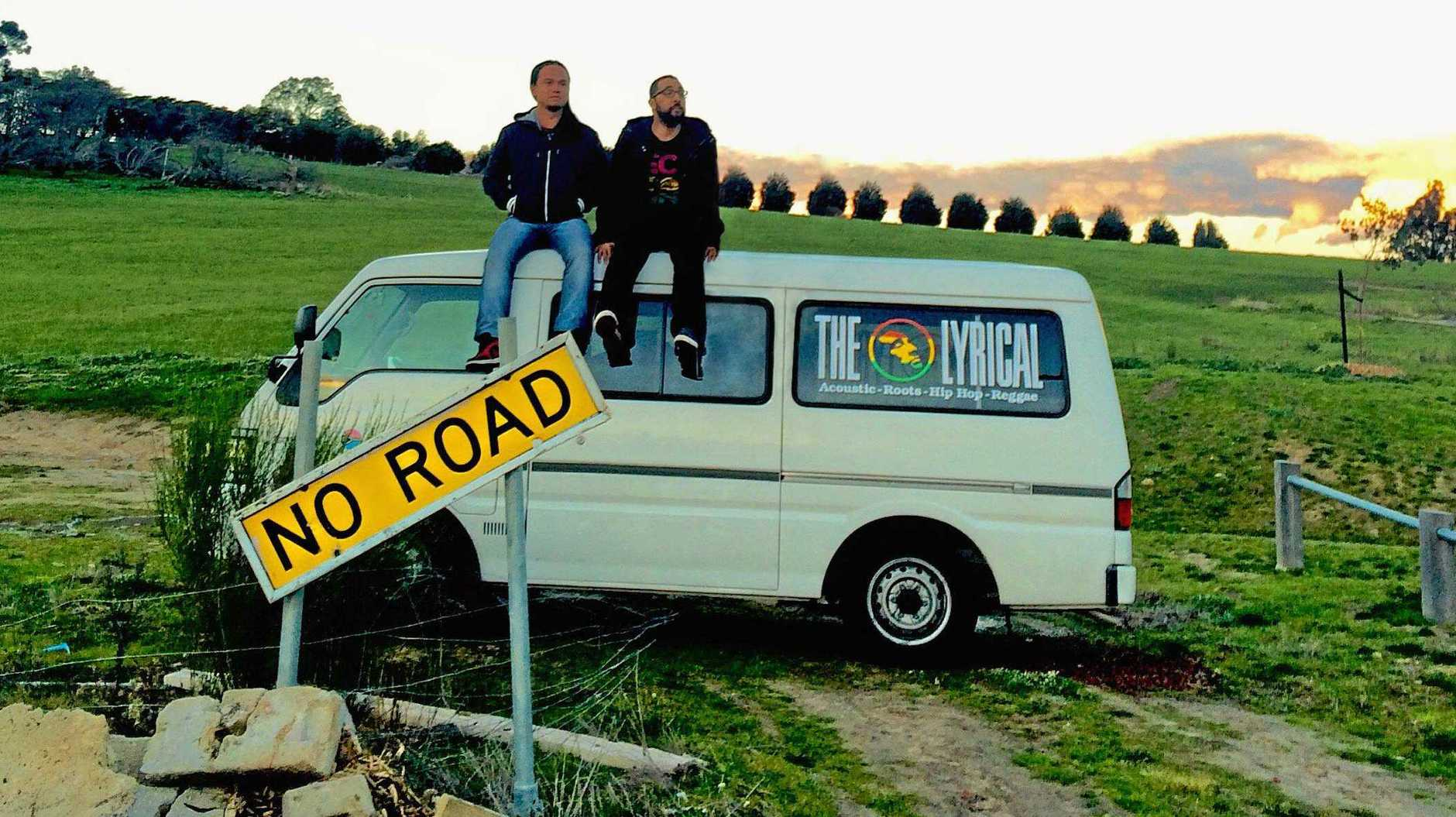 MUSIC MESSAGES: The Lyrical's duo of Karl Smith and Genghis Tuan will play this Saturday night.