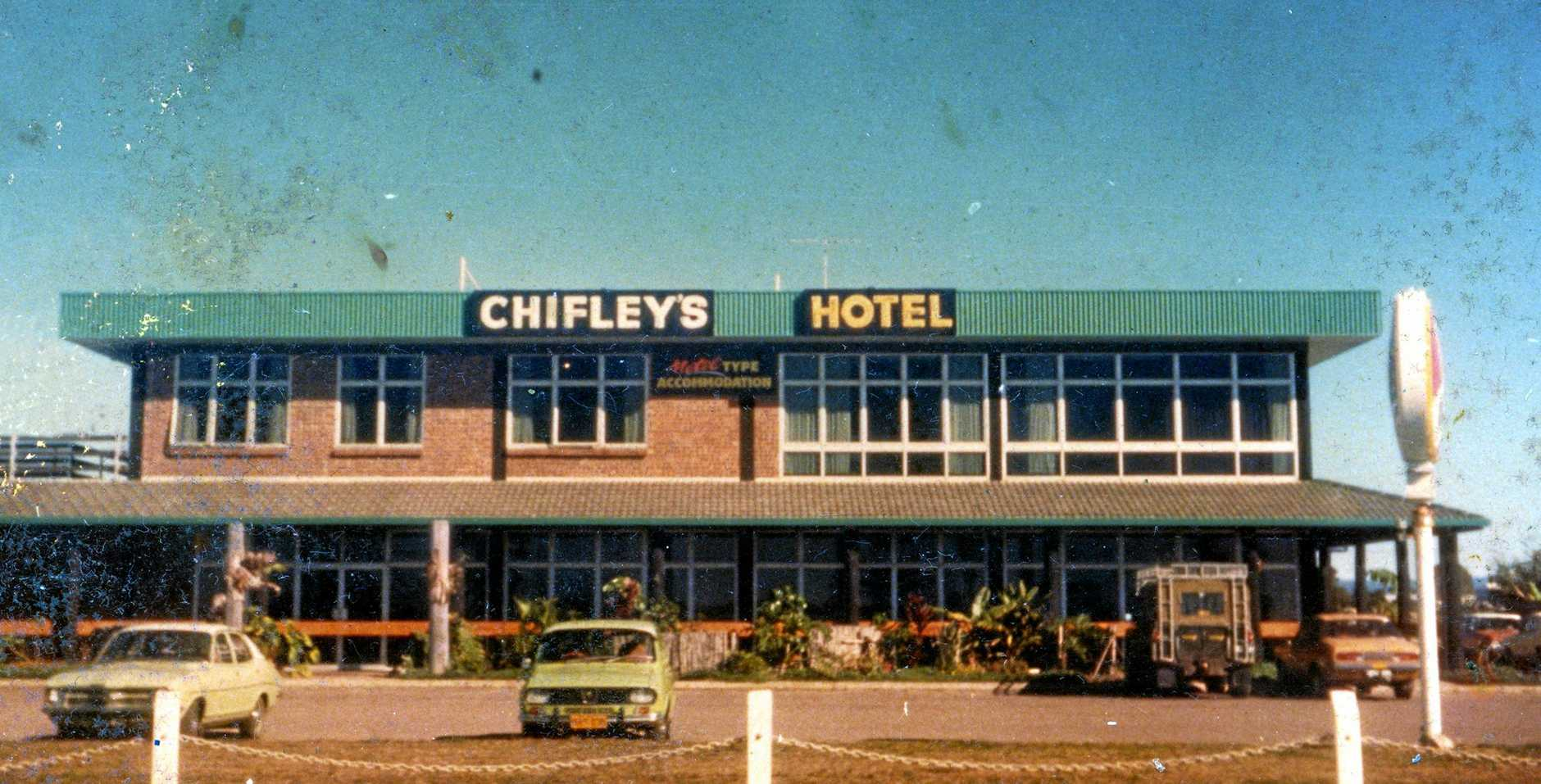 Chifley's Hotel at Alexandra Headlands built by Roy Thompson known as Thomo's Pub.