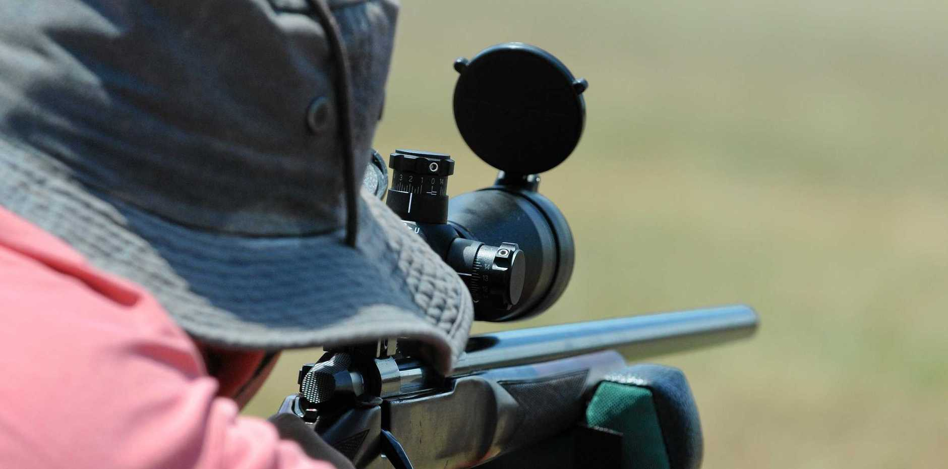 Gympie's shooters have been thrown a lifeline by mayor Mick Curran, who asked the council to wait on making a decision to axe pursuit of a regional shooting complex until after the next state election.