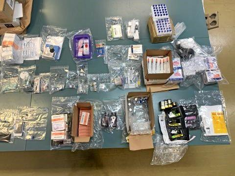 Drug haul in Blackwater