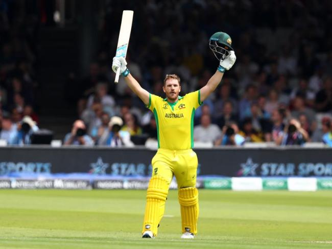 Aaron Finch's century at the top of the order laid the platform for Australia.