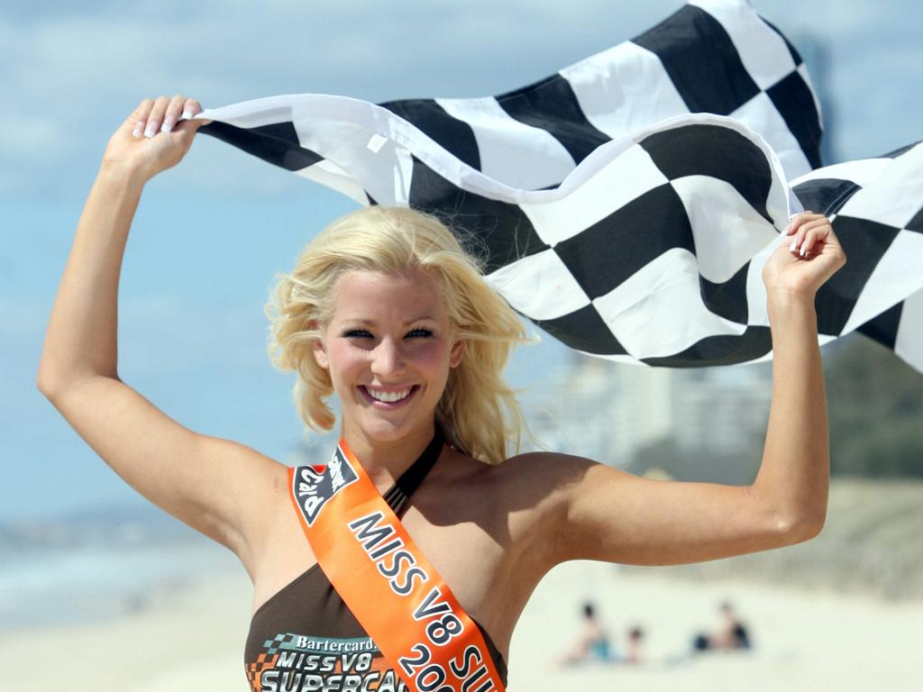 Miss V8 Supercars 2006 Riaha Crehan.