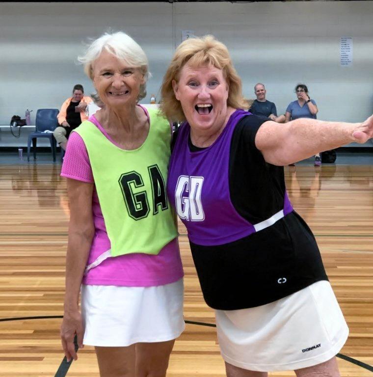 WALKING NETBALL: Seniors can enjoy the social fitness program which is expanding across Australia.
