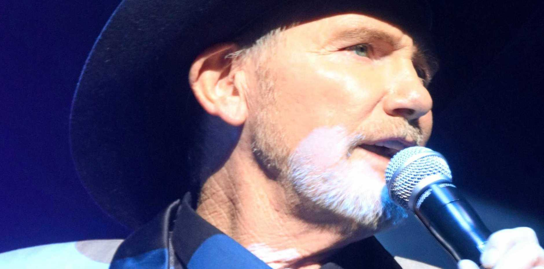 TRIBUTE: Graham Toole has won acclaim playing the music of Kenny Rogers.