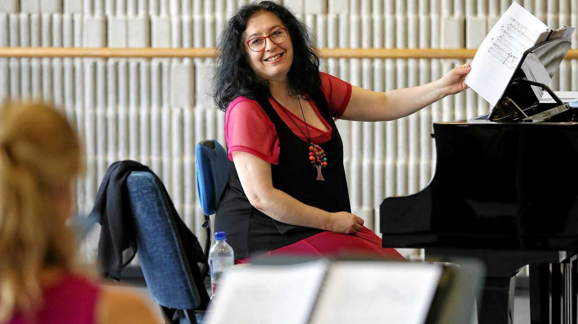 MAKING MUSIC: Whiteley opera composer Elena Kats-Chernin.