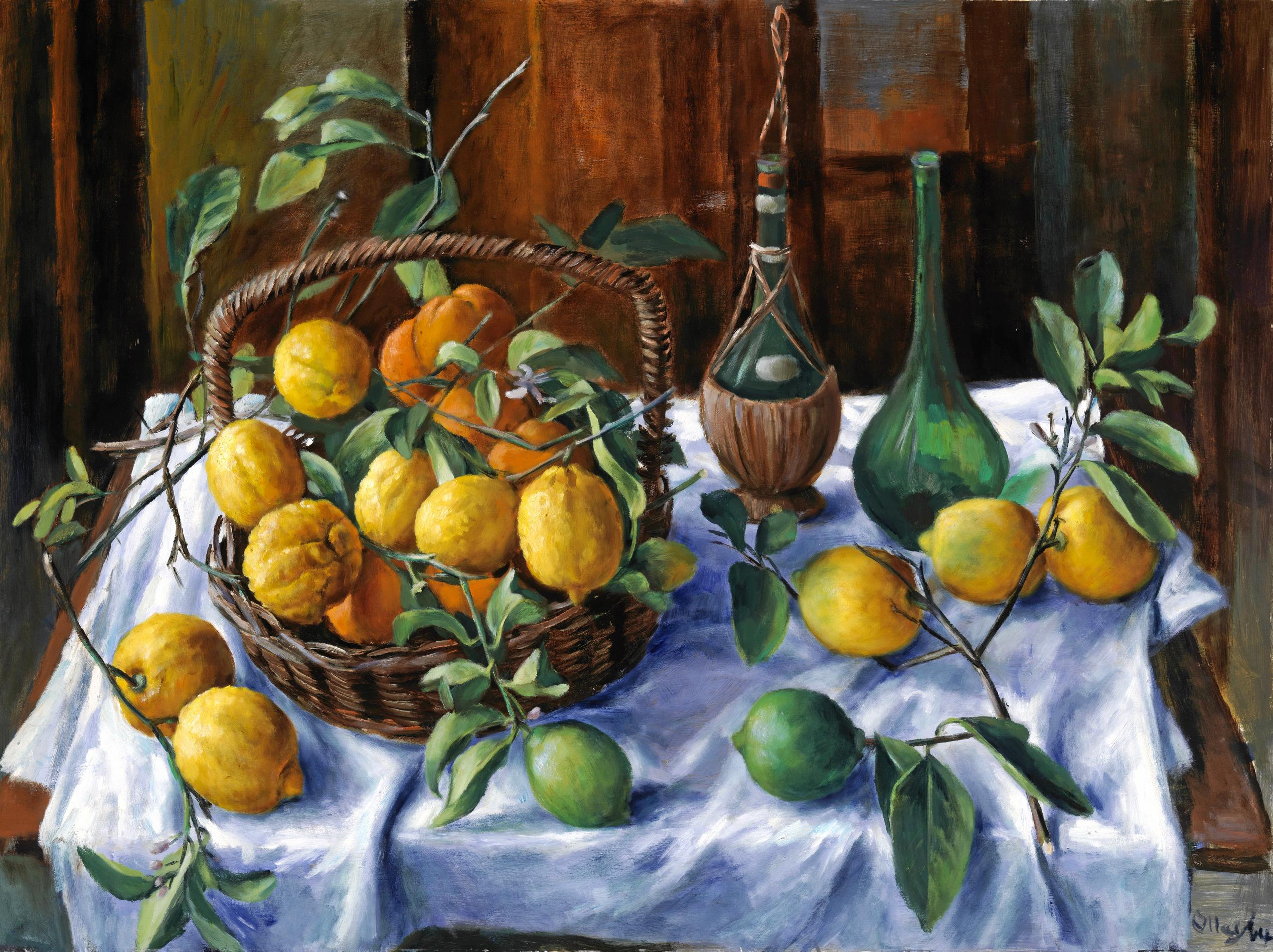 Lemons and Oranges (1964) by Margaret Olley -
